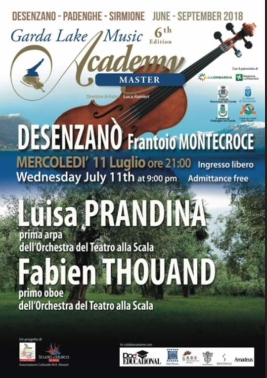 Garda Lake Music Academy a Desenzano