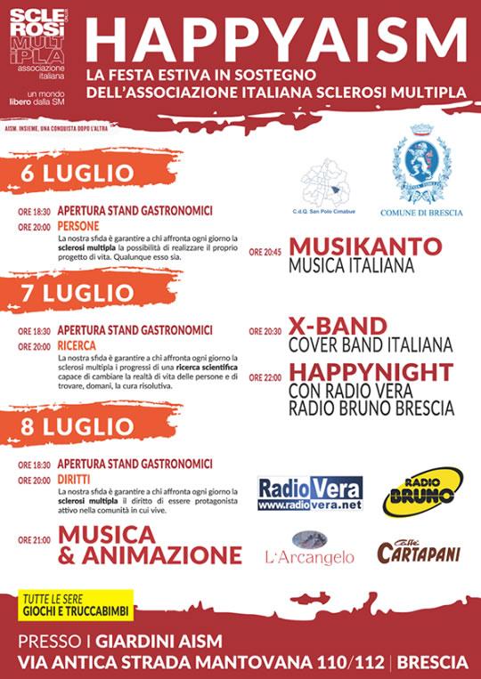 Happy AISM a Brescia