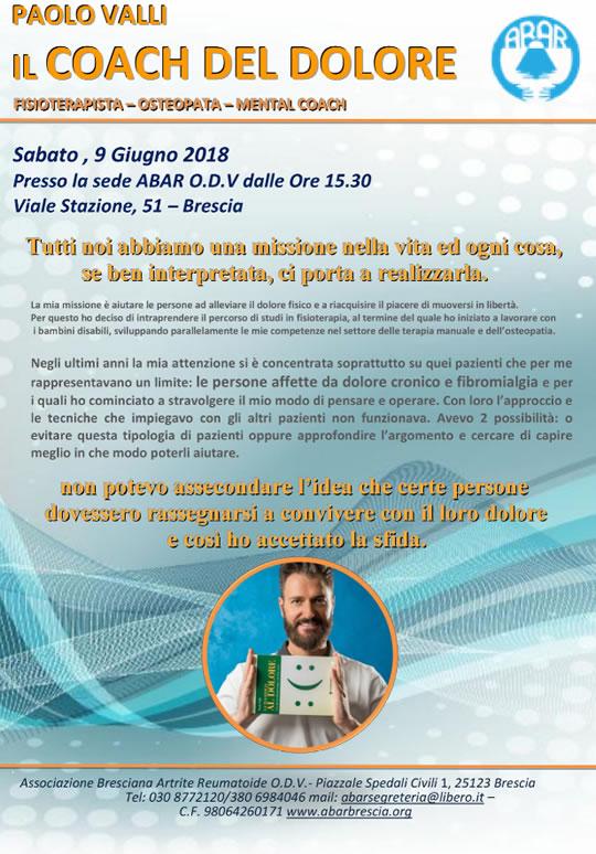 Il Coach del Dolore a Brescia