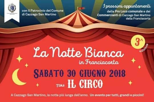 La Notte Bianca in Franciacorta a Cazzago San Martino