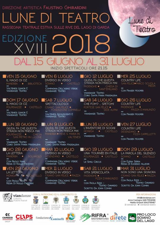 Lune di Teatro sul Lago di Garda