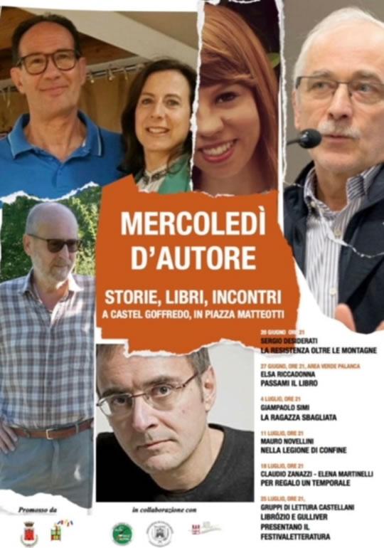 Mercoledì d'autore a Castel Goffredo