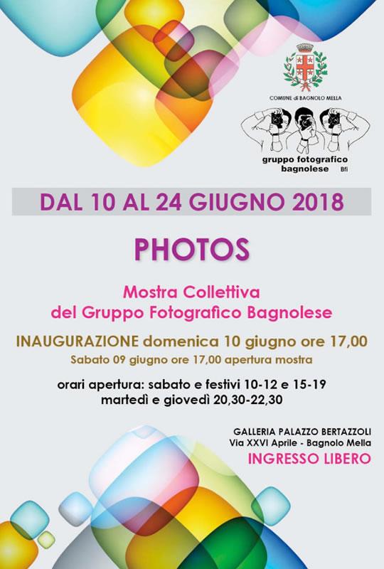 Mostra Collettiva del Gruppo Fotografico Bagnolese