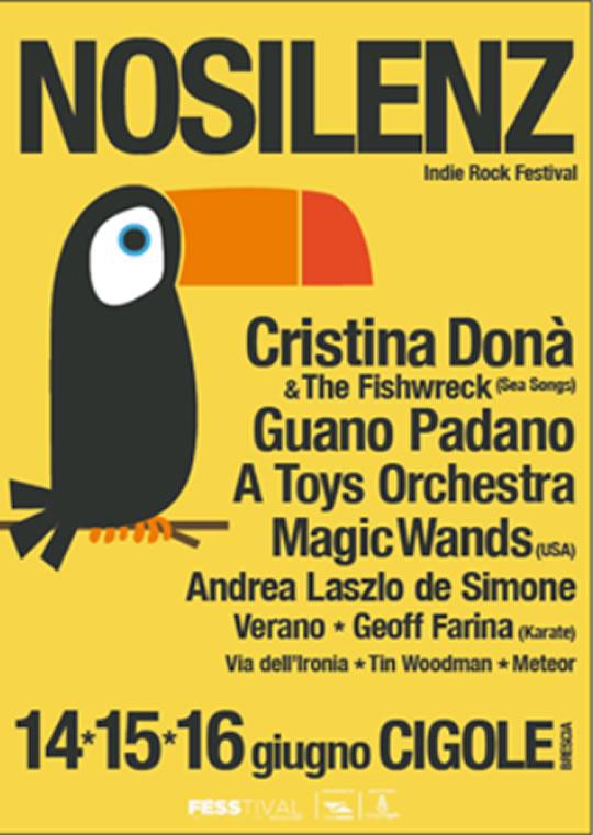 No Silenz Indie Rock Festival a Cigole