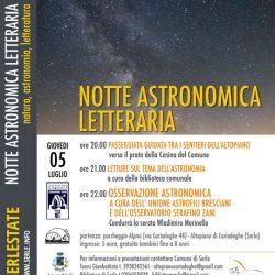 Notte Astronomica Letteraria a Serle