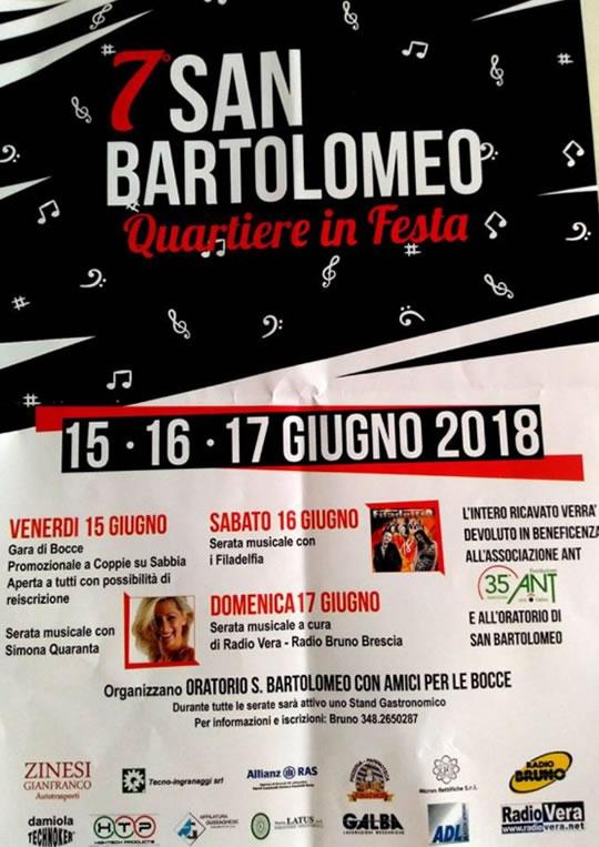 Oratorio S.Bartolomeo in Festa a Brescia