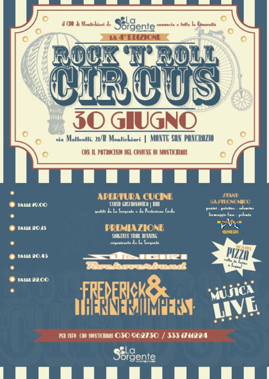 Rock'n roll circus a Montichiari