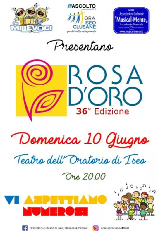 Rosa D'Oro a Iseo