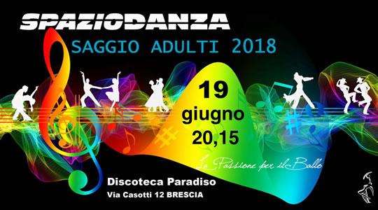 Saggio Danza Adulti a Brescia