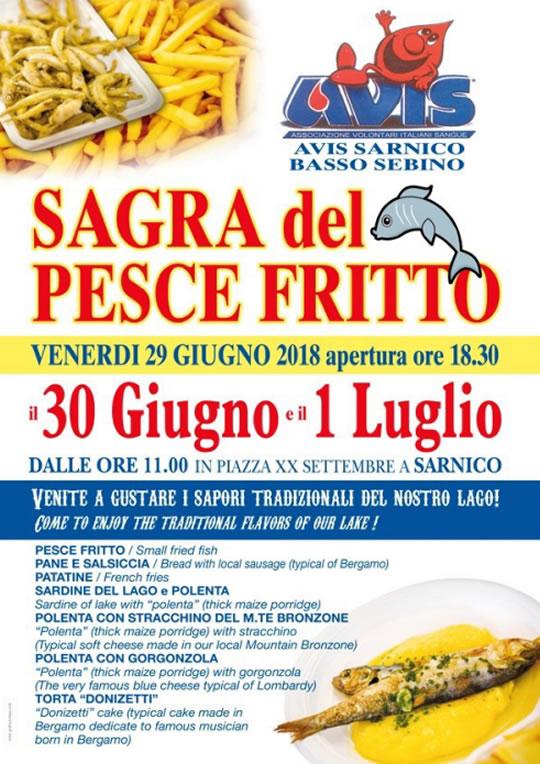 Sagra del Pesce Fritto a Sarnico