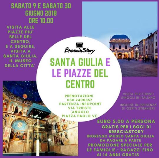 Santa Giulia e le Piazze del Centro