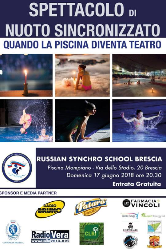 Spettacolo di Nuoto Sincronizzato a Brescia