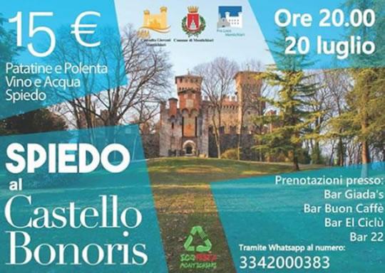 Spiedo al Castello Bonoris di Montichiari