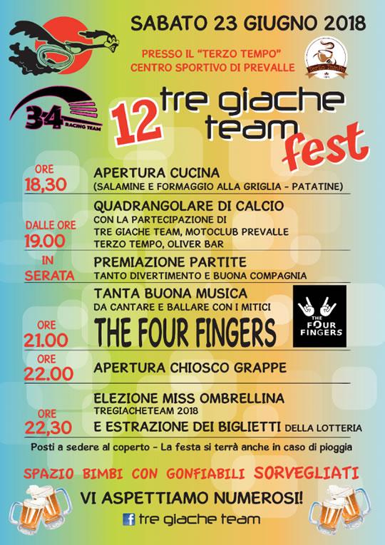 TreGiacheTeam Fest 12 a Prevalle