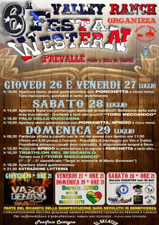 6 Festa Western a Prevalle