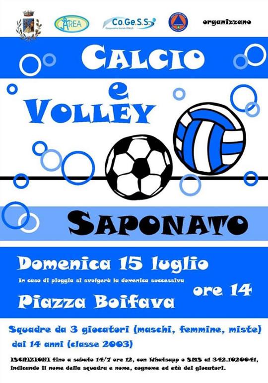 Calcio e Volley Saponato a Serle