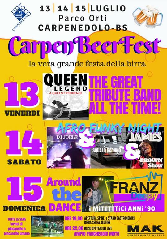 CarpenBeerFest a Carpenedolo