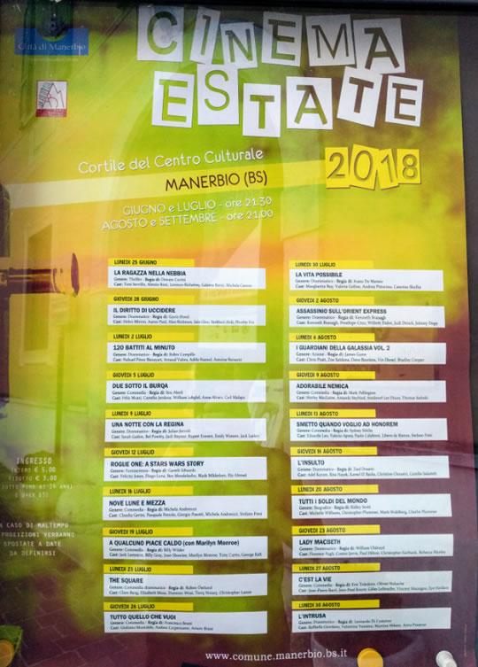 Cinema Estate a Manerbio