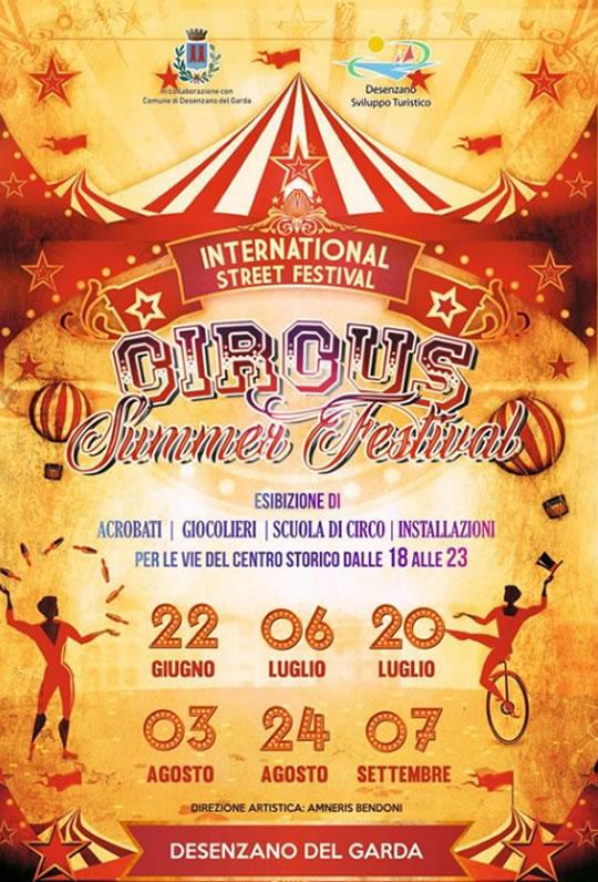 Circus Summer Festival a Desenzano