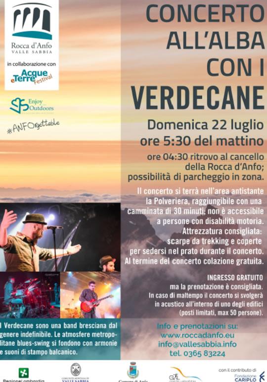 Concerto all'Alba alla Rocca d'Anfo