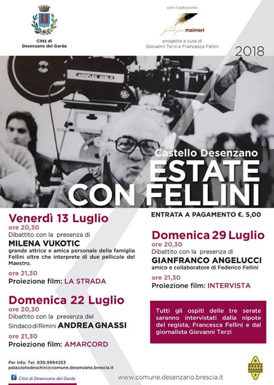 Estate con Fellini a Desenzano