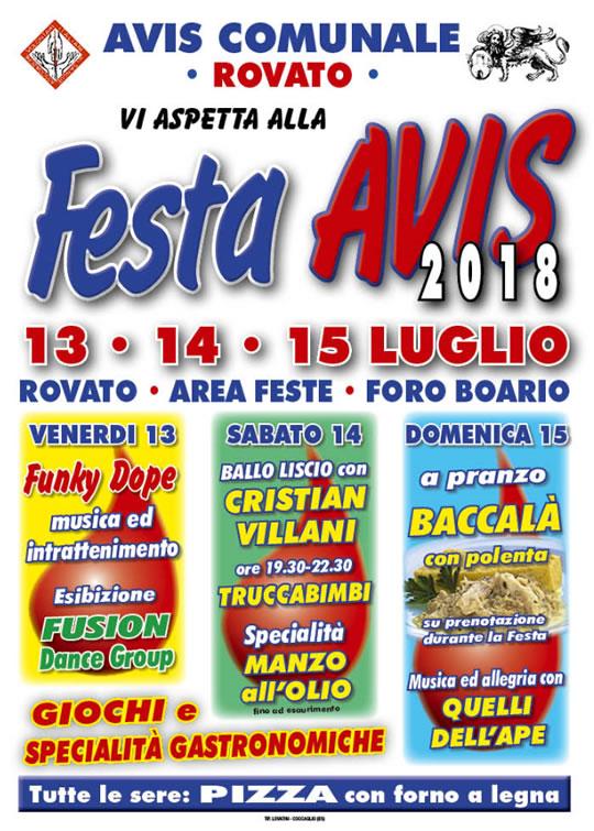Festa AVIS a Rovato
