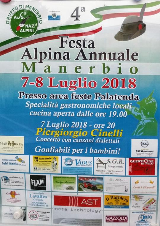 Festa Alpina Annuale a Manerbio
