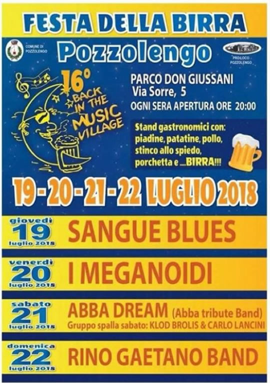 Festa della Birra a Pozzolengo