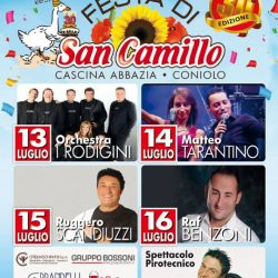 Festa di San Camillo a Coniolo