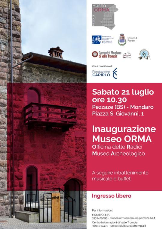 Inaugurazione Museo Orma a Pezzaze