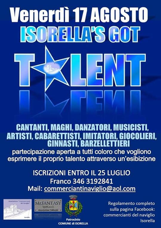 Isorella's Got Talent