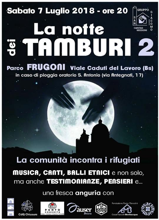 La Notte dei Tamburi a Brescia