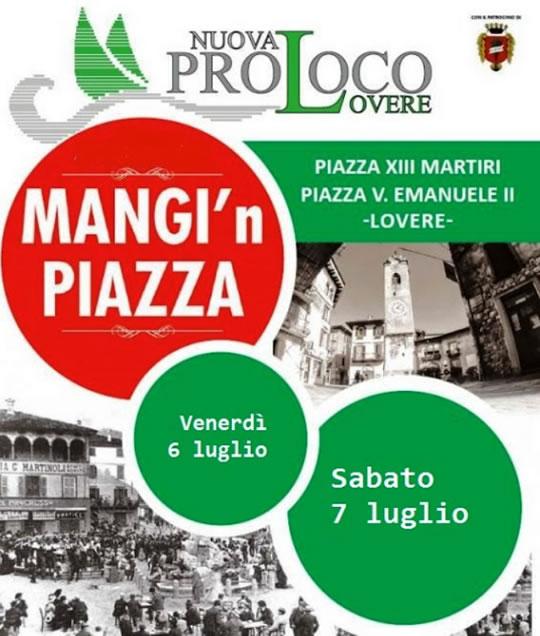 Mangi in Piazza a Lovere
