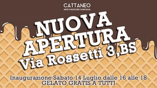 Nuova Apertura Gelateria a Brescia