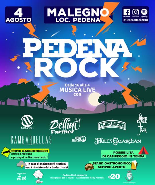 Pedena Rock a Malegno