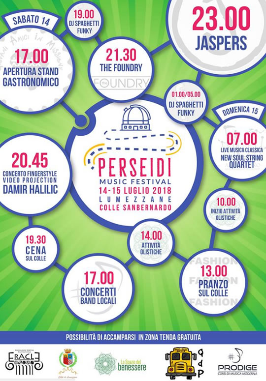 Perseidi Music Festival a Lumezzane