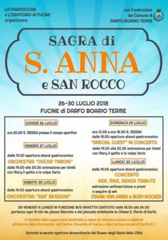 Sagra di S. Anna e San Rocco a Darfo Boario Terme