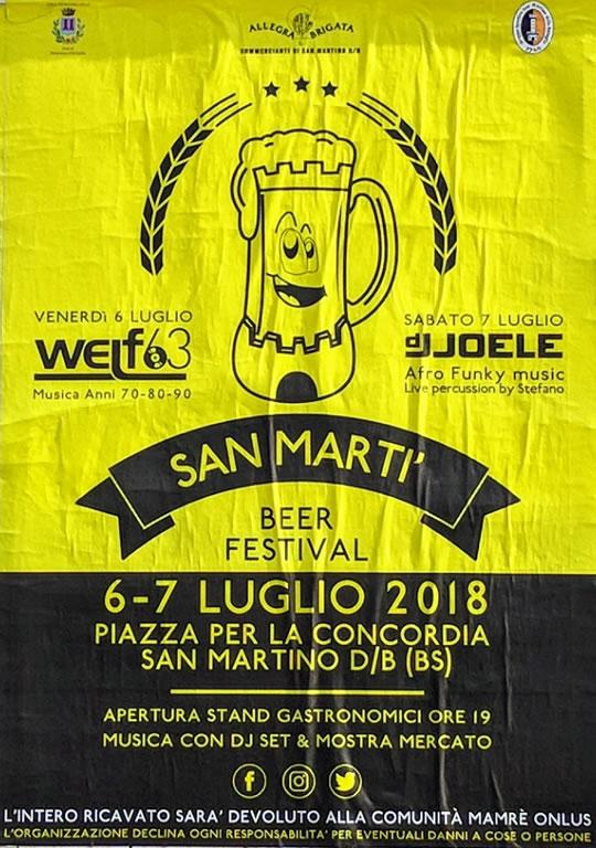 San Martì Beer Festival a San Martino D/B