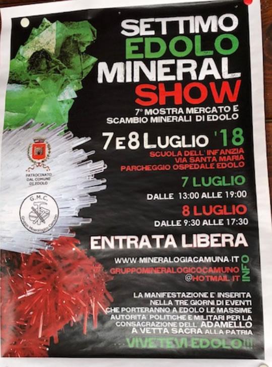 Settimo Edolo Mineral Show