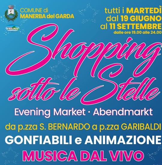Shopping Sotto le Stelle a Manerba del Garda