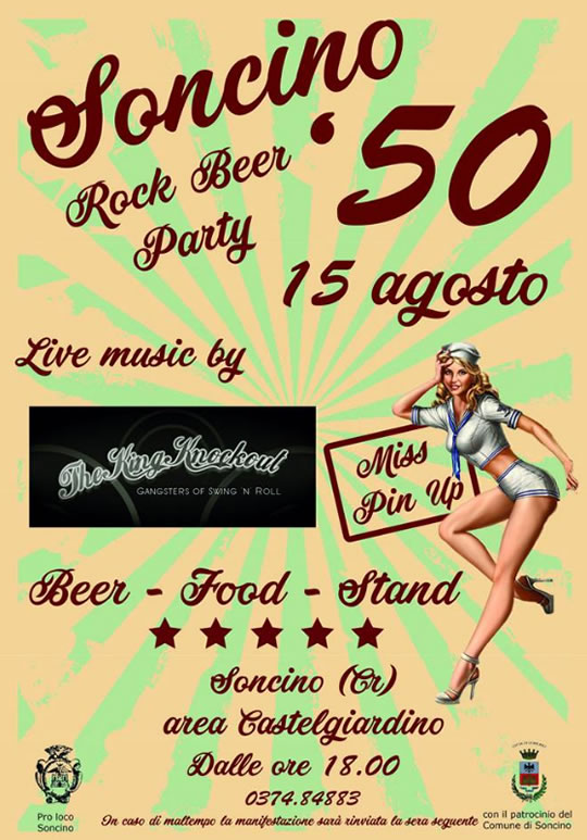 Soncino Rock Beer Party