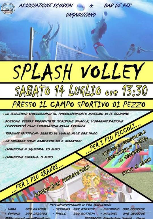 Splash Volley a Pezzo