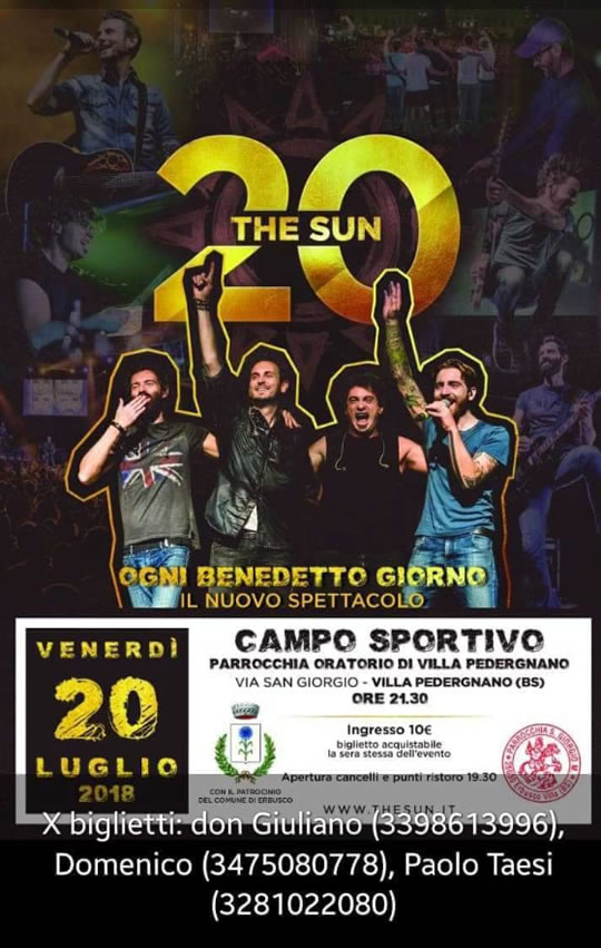 The Sun a Villa Pedergnano