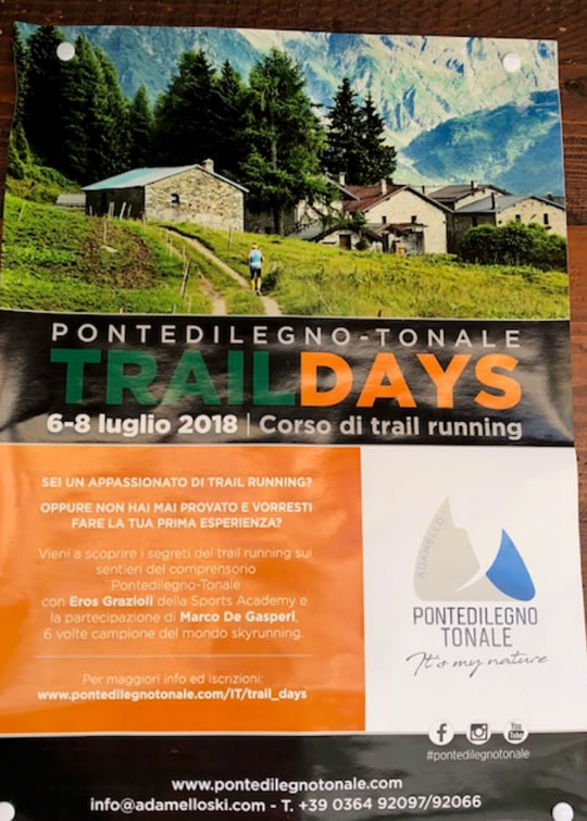 Trail Days a Ponte di Legno
