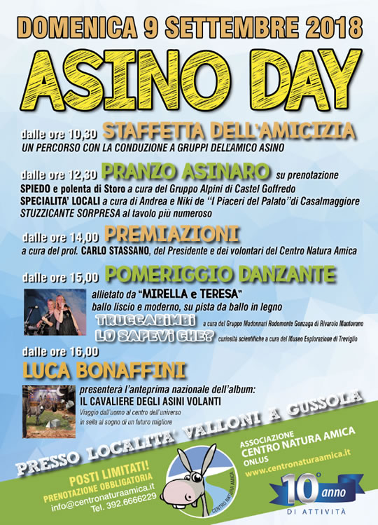 Asino Day a Gussola CR