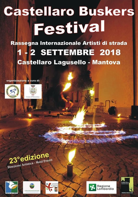 Castellaro Buskers Festival a Castellaro Lagusello MN