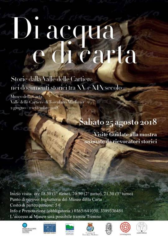 Di Acqua e di Carta a Toscolano Maderno