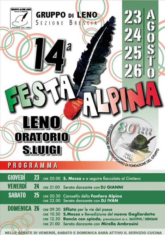 Festa Alpina a Leno