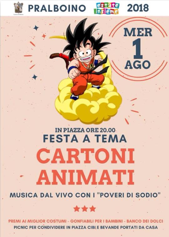 Festa a Tema Cartoni Animati a Pralboino