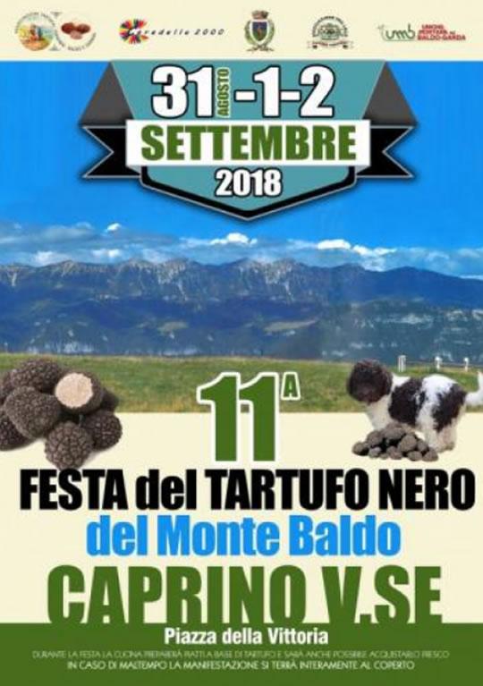 Festa del Tartufo Nero del Monte Baldo a Caprino Veronese